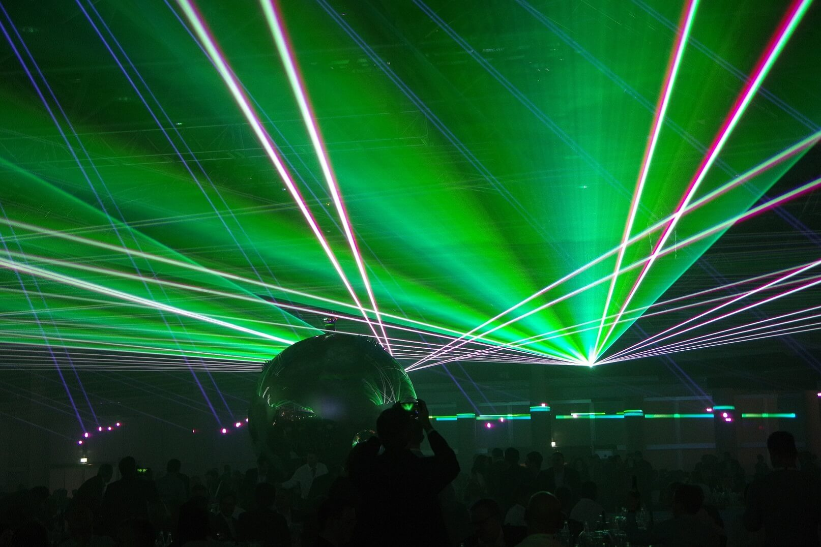 Spectacle Show Laser