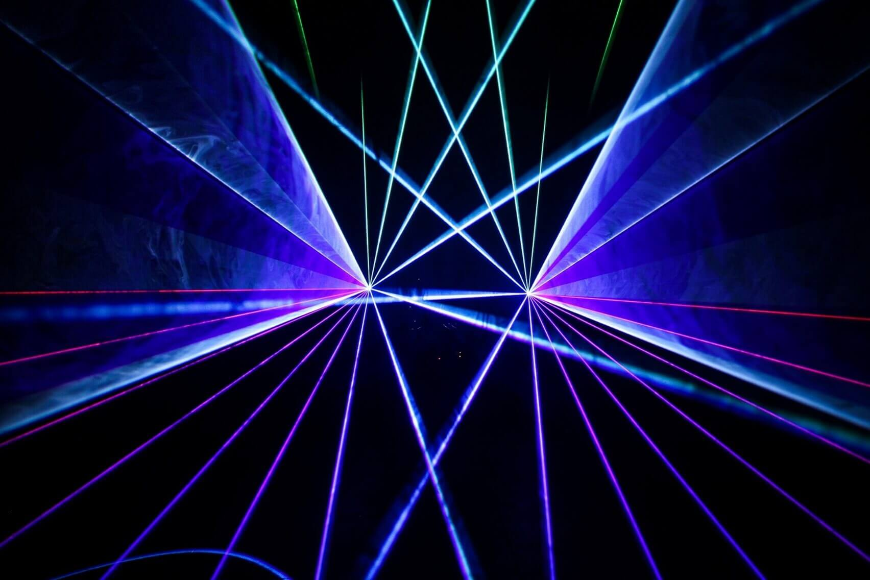 Laser Show with Atmospheric effects